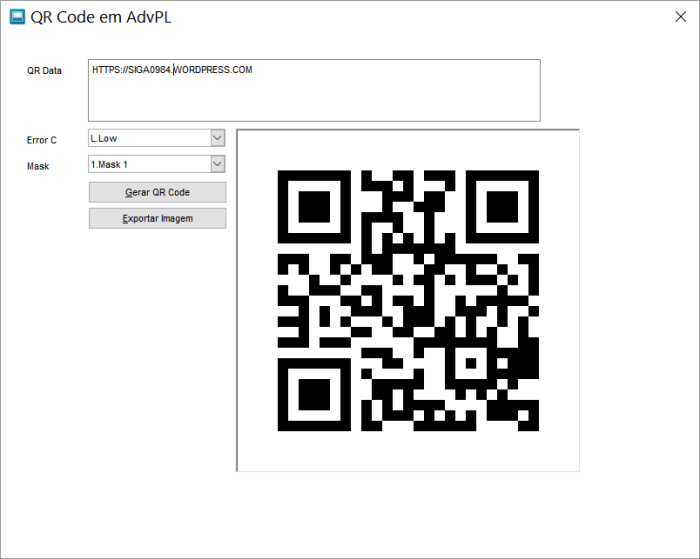QR Code Print
