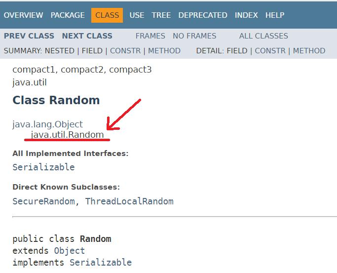 Java - Random